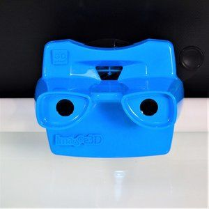 Image 3D Blue View-Master Made in USA